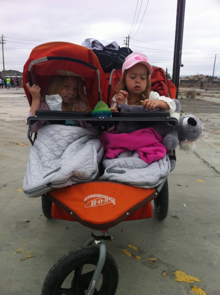 running with kids, moms running, healthy family, run, double stroller