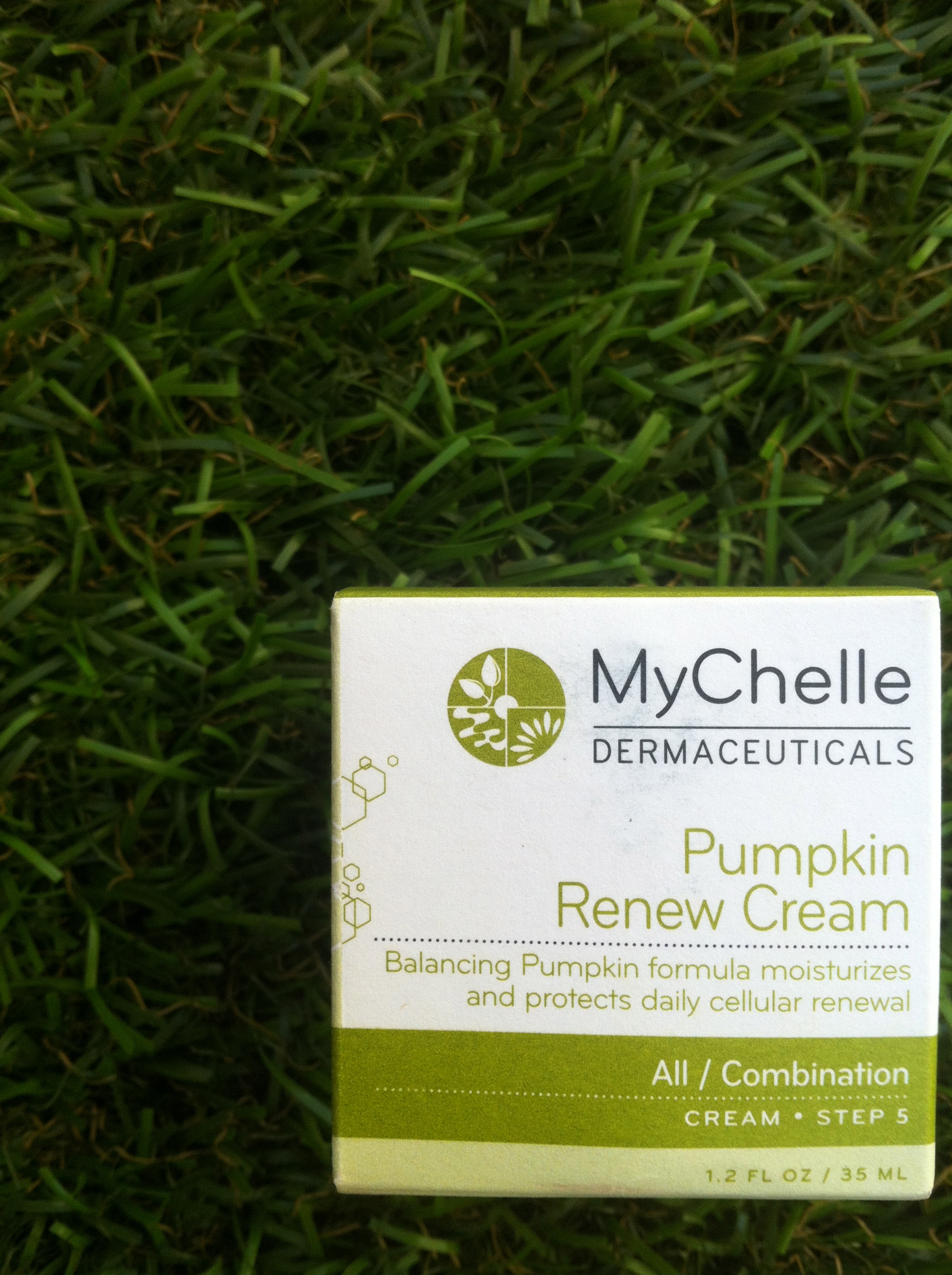MyChelle Dermaceuticals, non-toxic skin care, natural skin care, mychelle review, mychelle pumpkin renewal cream