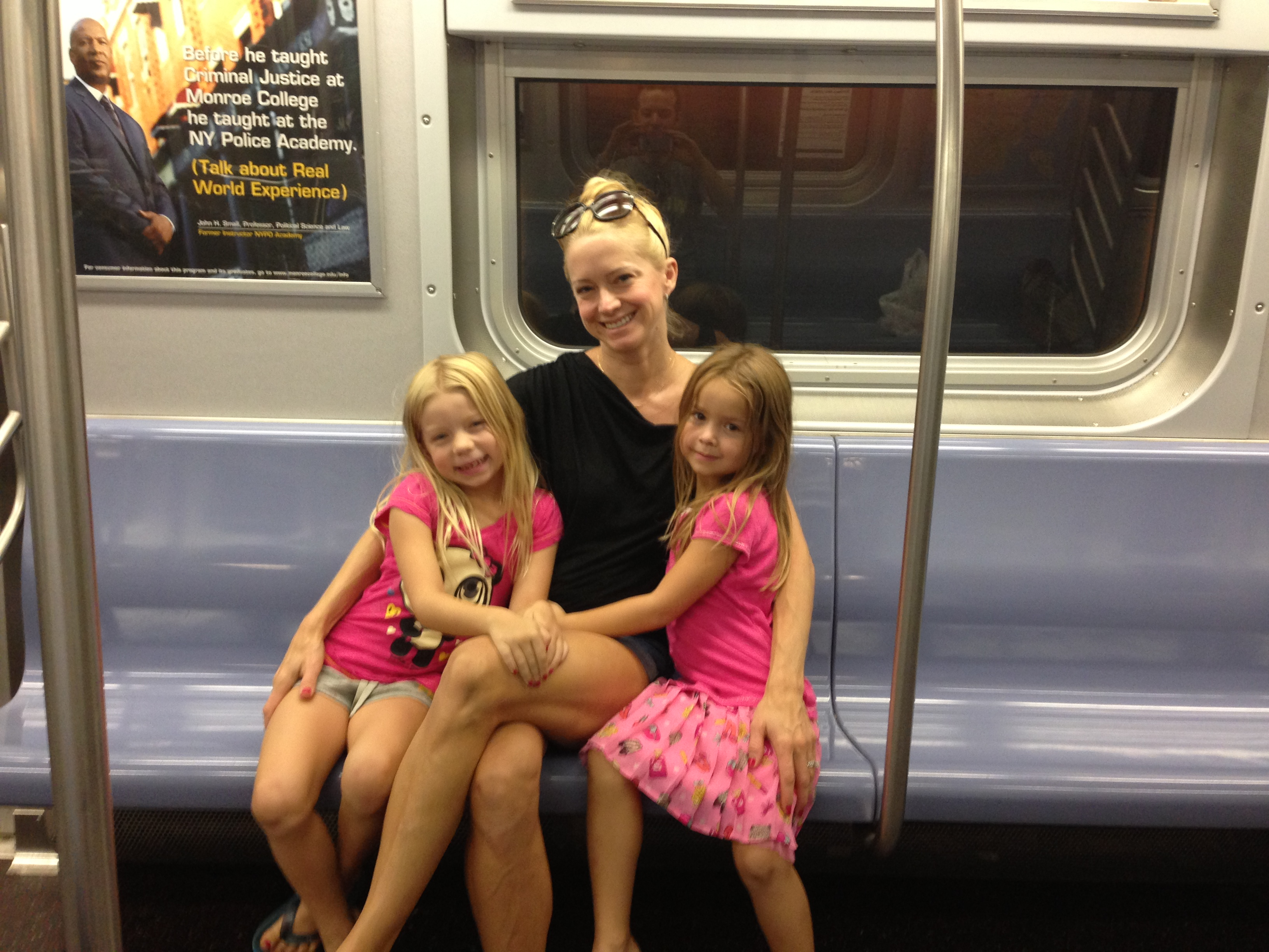NYC subway with kids, traveling with kids, NYC with kids, travel