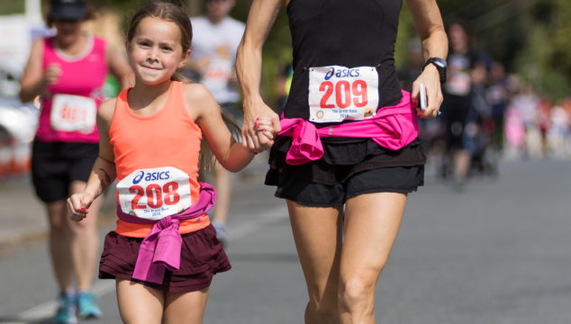 Running With Your Daughter (s)